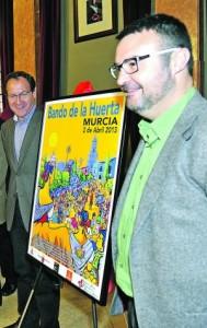 Presentación cartel del Bando de la huerta © Nacho García 20/3/2013